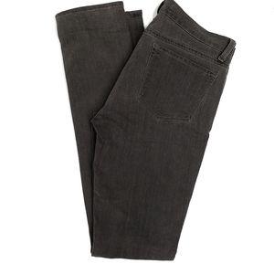 J Brand Grey Low Rise Pencil Leg Jeans